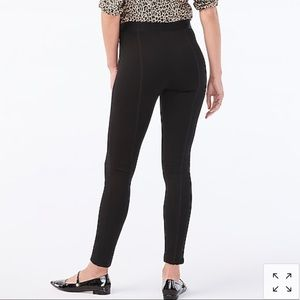 Gigi pant with side-zip closure in ponte